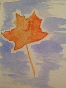 leaf painting 11292014