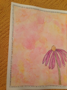 wildflower watercolor 02212015