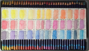 Inktense Tray One