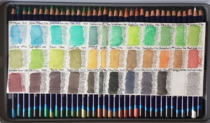 Inktense Tray Two