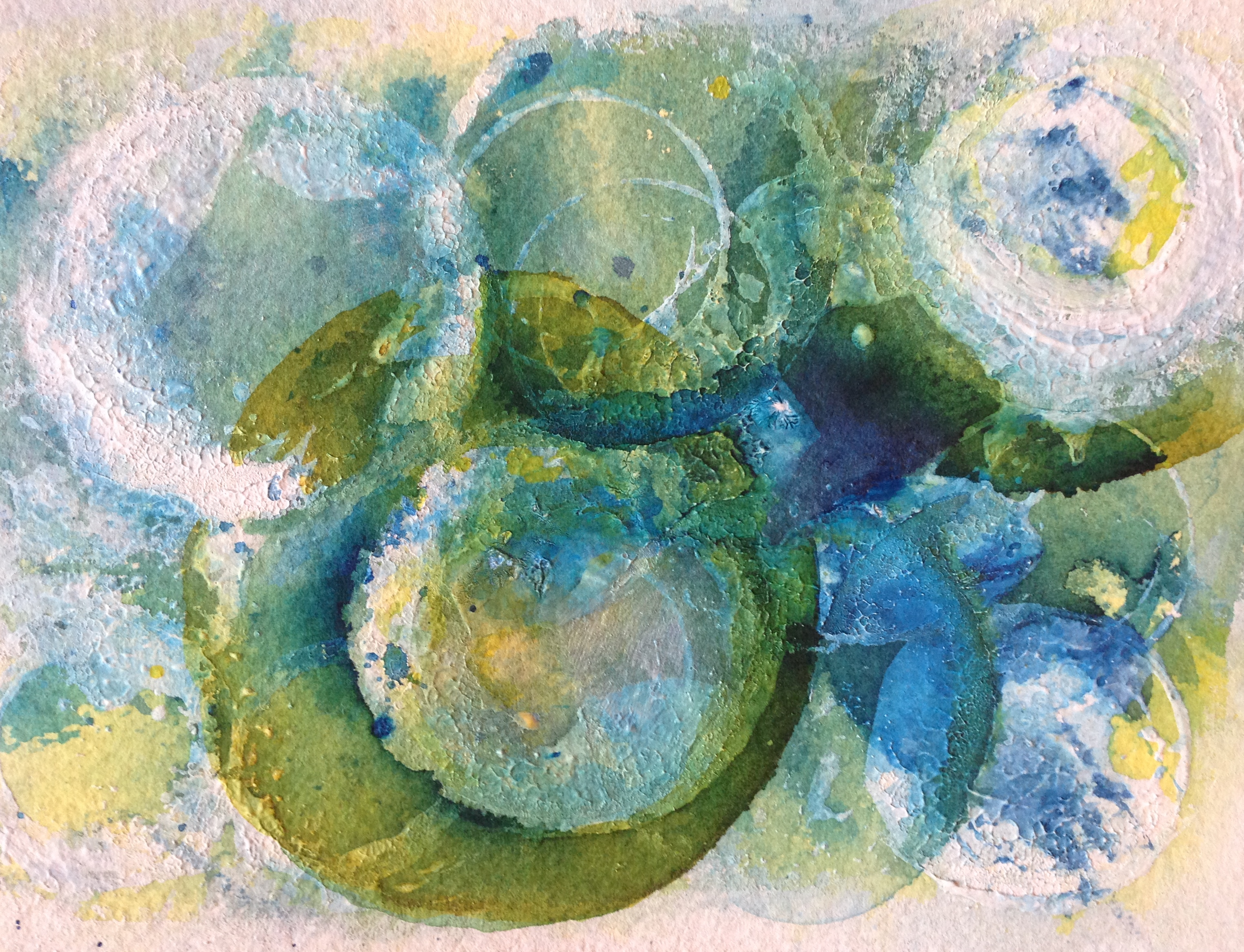 World Turning (World Watercolor Month, #2/31) – Create art every day