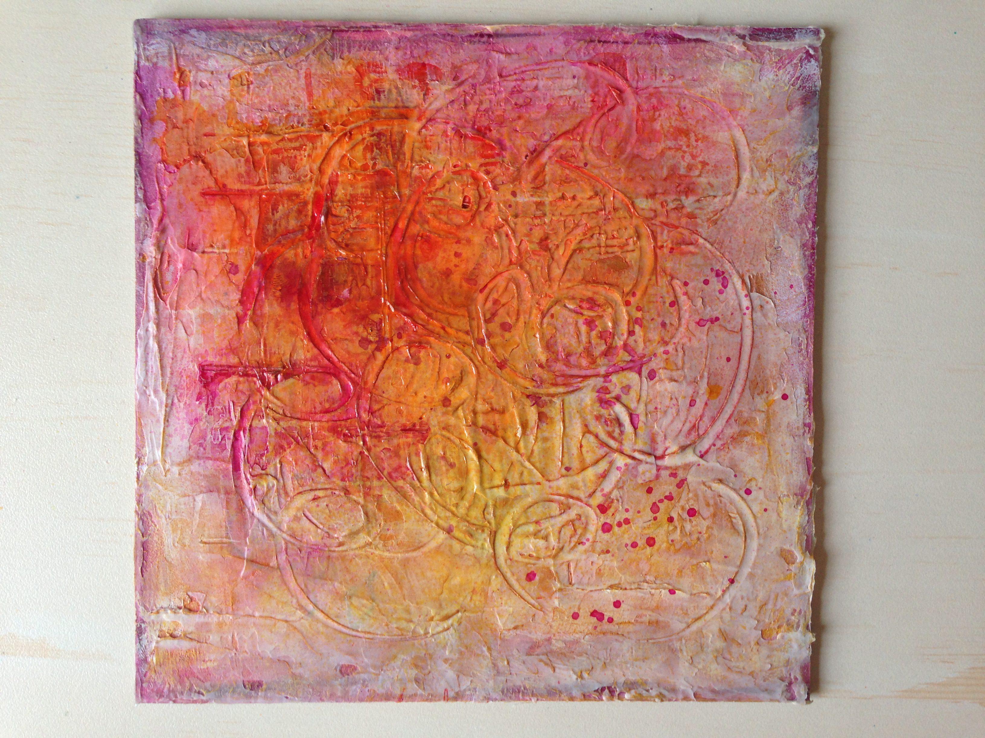 Acrylic Paintings Create art every day